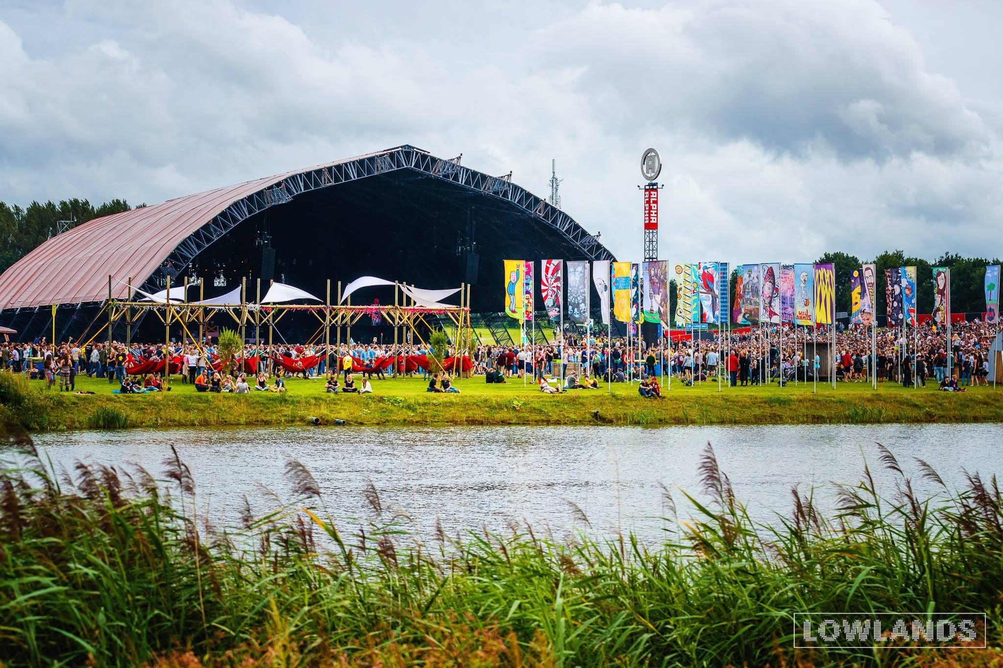 werken op lowlands en festivals